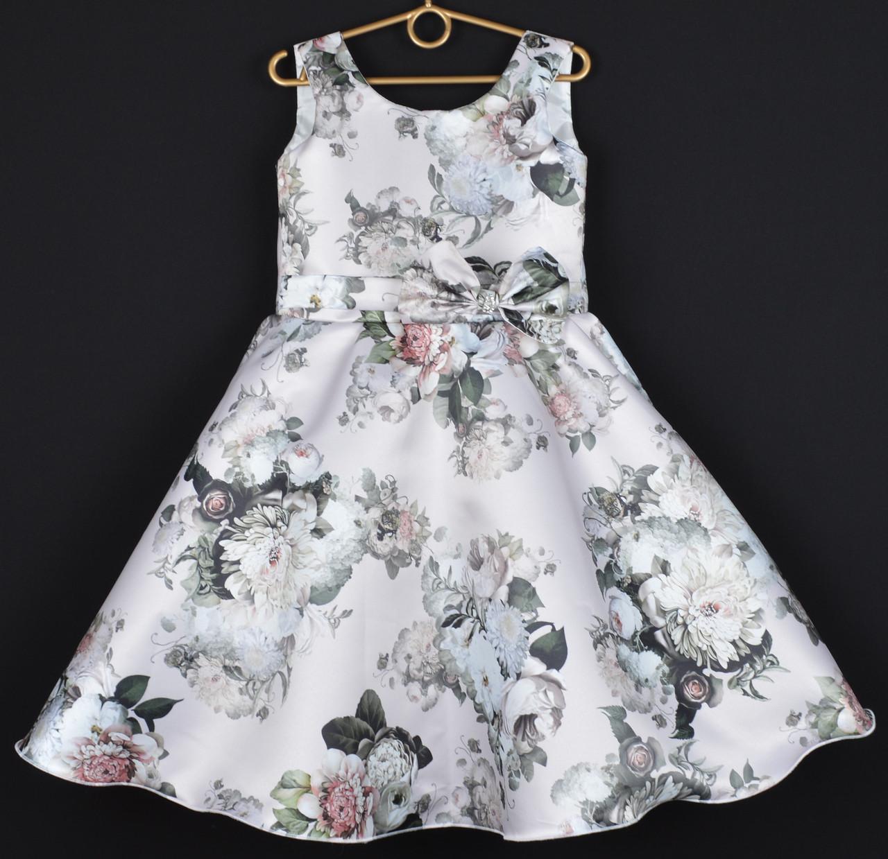 0c5a6dc9e08 Платье нарядное детское атласное