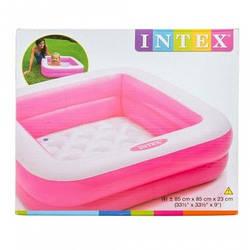 Детский надувной бассейн Intex, Розовый (57100(Pink))