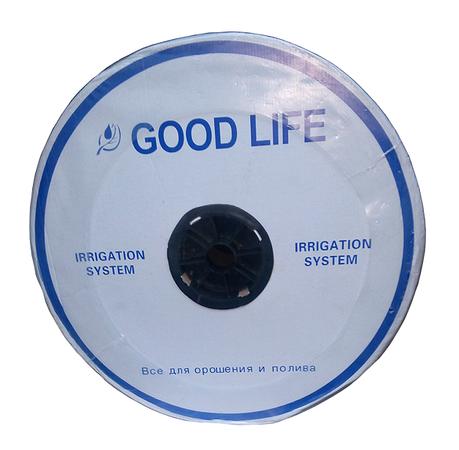 Капельная лента щелевая Good Life D16х0,15 шаг 10см 1000м, фото 2