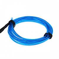 Гибкий голубой неон cветопровод EL неоновая подсветка салона авто 5м