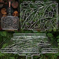 Кованная решетка-гриль для мангала, 430х330 мм (ковка)
