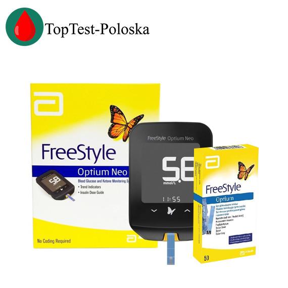 Глюкометр FreeStyle Optium Neo + 50 тест полосок