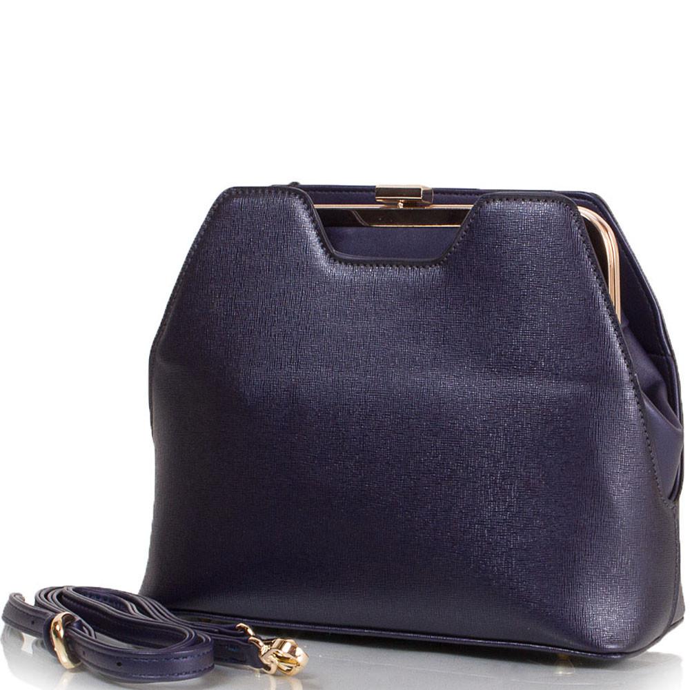 2e7e3169158d Саквояж (ридикюль) ANNA&LI Женская сумка из качественного кожезаменителя  ANNA&LI (АННА И ЛИ) TU14109L-navy