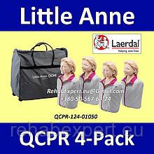 Комплект Манекенов Имитатор пациента Laerdal Little Anne QCPR 4-Pack Training Manikin