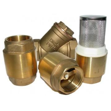 Клапаны, фильтры, сгон-американки латунные усиленные