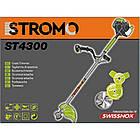 Бензокоса Stromo ST-4300 3 ножа + 1 волосінь. Бензокоса Стромо, фото 4
