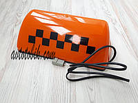 Шашка такси на магнитах, оранжевая