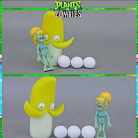 Растения против зомби | Plants vs Zombies Игровой набор №35 Бананомет (Растения стреляют шариками)