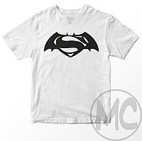 Футболка Batman v Superman (Бэтмен против Супермена) | Футболка Бэтмен против Супермена