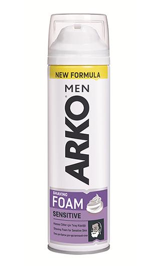 Пена для бритья ARKO Sensitive (200мл.)