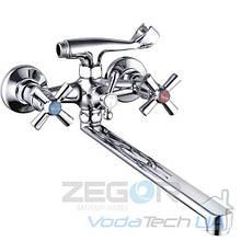Смеситель ZEGOR ванная длинный DFR7-B722