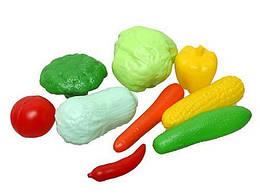 Набор овощей, 10 предметов, в сетке