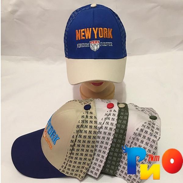 Детская кепка (100% cotton) для мальчика р-р 52 (5 ед в уп) NA_9843