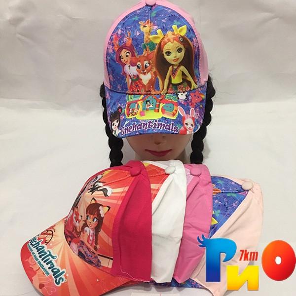 Детская  летняя кепка (100% cotton) для девочек р-р 52 (5 ед в уп) NA_9640