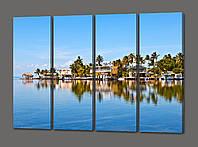 Модульная картина Морской пейзаж 88*64 см Код: 477.4к.88