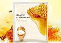 Тканевая маска для лица BIOAQUA Lemon nourishing mask с экстрактом меда 30 г