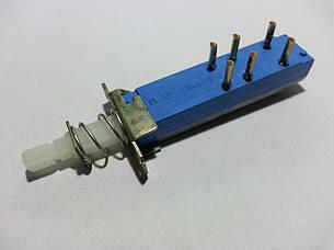 ПКН41-1-2, Переключатель сетевой модульный с фиксацией приводного элемента