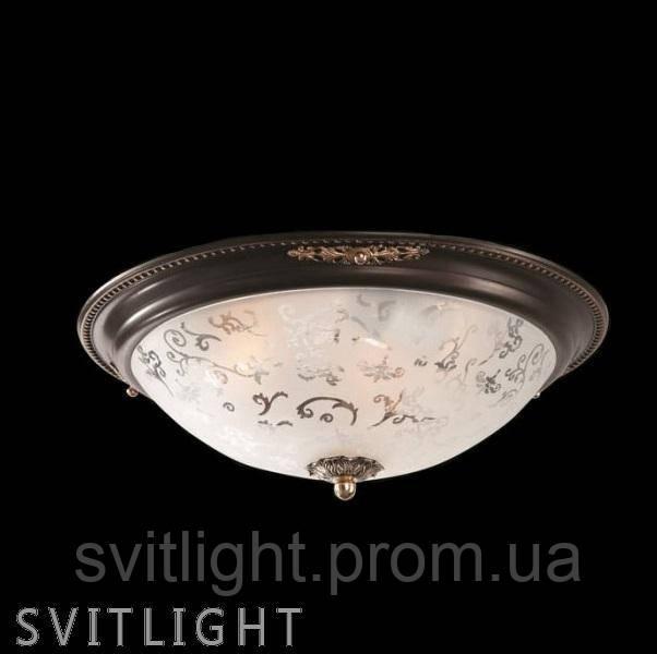 Потолочный светильник CL907-06-R / C907-CL-06-R Германия. Круглый каркас с индивидуальным рисунком из металла