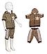 """Костюм """"Adidas"""" с бриджами, рост 86-110 💥Бесплатная доставка, фото 2"""