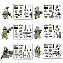 Отряд спец. назначения +150 оружия  (аналог Лего/Lego) военный конструктор, фото 3