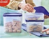 """Набор контейнеров """"Компакт"""" 1.1/2.6/4 л  3 шт. Tupperware Можно купить раздельно"""