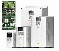 Частотный преобразователь GK800-4T11B 11 кВт 380 В с картой энкодера, фото 1