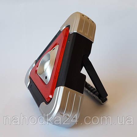 Аварийный знак Hurry bolt COB + LED фонарь и свечение, фото 2
