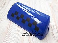 Стекло шашки такси, синее