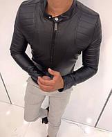 Мужская кожаная куртка косуха демисезонная отличного качества 9c711f0e3c4df