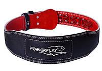 Пояс атлетический PowerPlay черно/красный