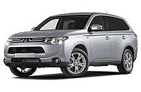 Накладка заднего бампера Mitsubishi Outlander 2012-