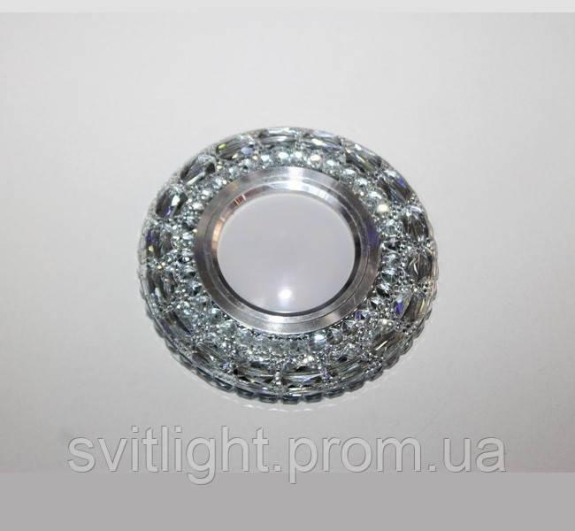Точечный светильник встраиваемый 7095 White  LS Svitlight