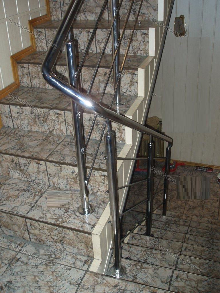 Лестничные перила из нержавеющей стали