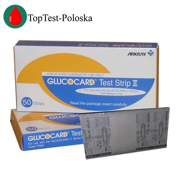 Тест-полоски Glucocard Test Strip ll (Глюкокард 2) 25 шт.