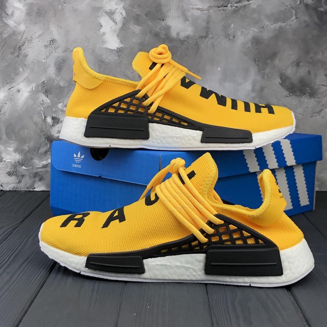 buy online b33f7 13acf Мужские кроссовки Adidas x Pharrell Williams Human Race NMD Yellow (адидас  нмд хьюман рейс, желтые) - Bigl.ua