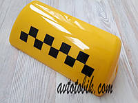 Стекло шашки такси, желтое, фото 1
