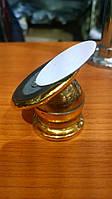 Магнитный держатель для телефона (золотой, на двухстороннем скотче)