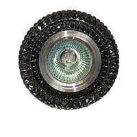 Точечный светильник встраиваемый 7015 Black LS Svitlight, фото 1