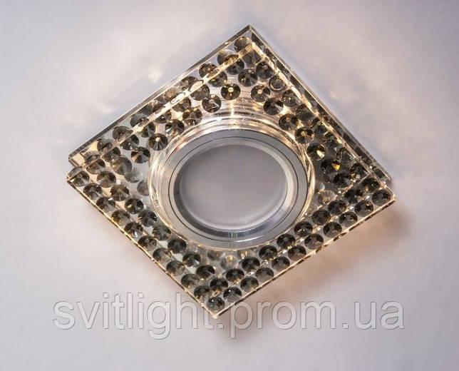 Точечный светильник встраиваемый 8144 Gray LS Svitlight