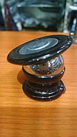 Магнитный держатель для телефона (черный, на двухстороннем скотче)