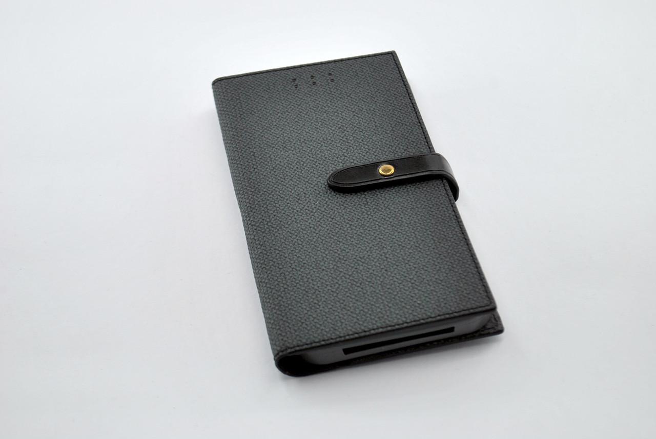 """Чехол-книжка 4you BELT 4,5""""- 4,8"""" black универсальная ТОП Продаж!"""