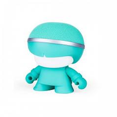 Акуст. система XOOPAR - Mini XBOY (7,5 cm, мятн., c Bluetooth, зарядн.USB-каб, LED-подсв., ремешк.) XBOY81001.30A