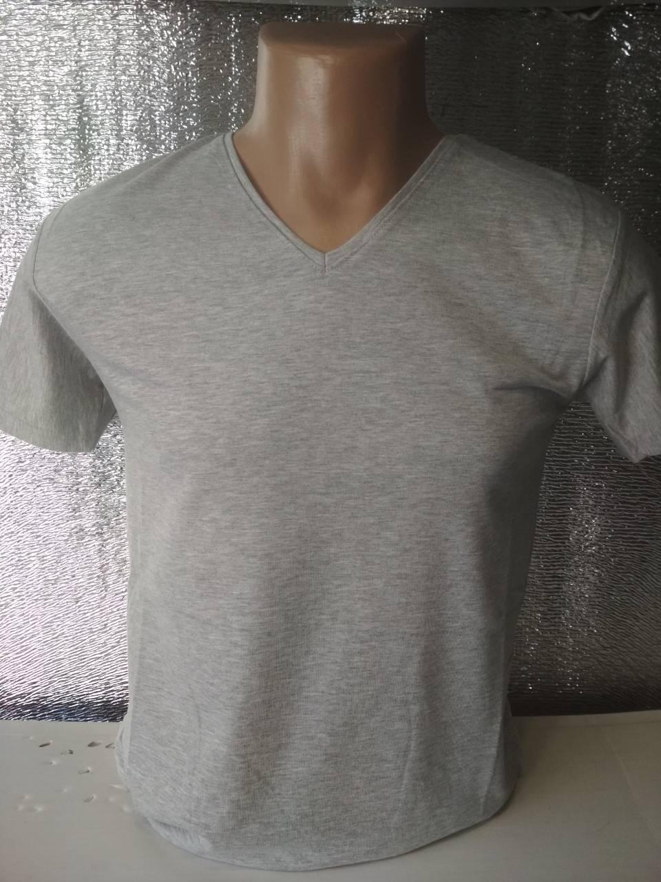 Мужская футболка CLASSIC Турция ОПТ меланж