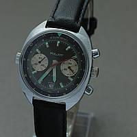 Poljot Полет мужские часы-хронограф 3133 СССР , фото 1