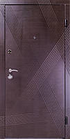 """Двери """"Портала"""" - модель Диагональ, венге серый горизонт"""