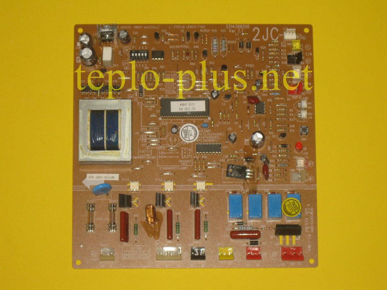 Блок (плата) управления 2JC-TOTAL 3314399Y00 Daewoo Gasboiler DGB-130, 160, 200 ICH, 250, 300 KFC