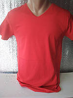 Мужская футболка CLASSIC Турция ОПТ красная