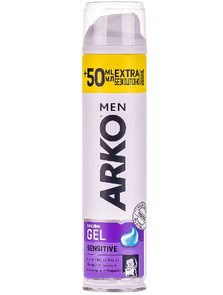 Гель для бритья ARKO Sensitive (250мл.)