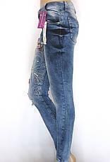 Джинсы женские с низкой посадкой, фото 3