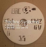 Круг белый шлифовальный 25А размер 125х20х32 зерно F80 CT